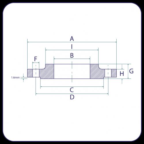 Flanges - ASA 150lb to Ansi B16.5