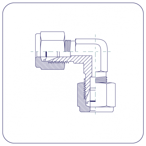 Single Ferrule Compression Fittings